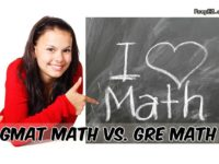Compare GMAT GRE math