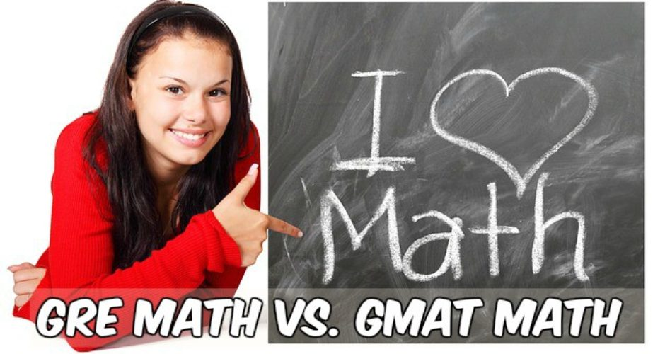 GRE GMAT MATH differences