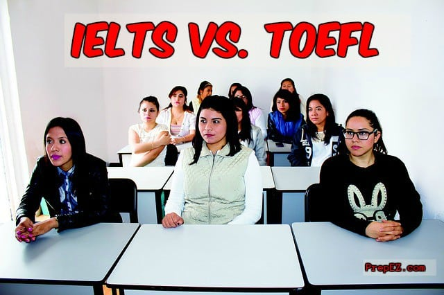 Clear comparison between MUET, IELTS and TOEFL