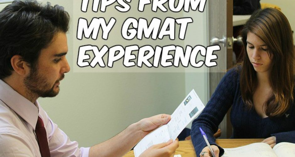 GMAT experience test
