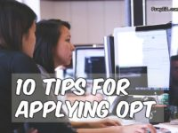 OPT tips