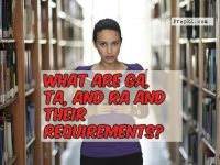 Know about the requirements of GA, TA, and RA