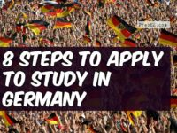 steps to study in Germany