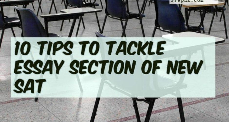 new SAT essay tips