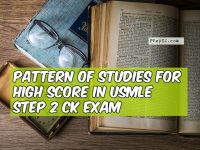 pattern of studies USMLE Step 2 CK