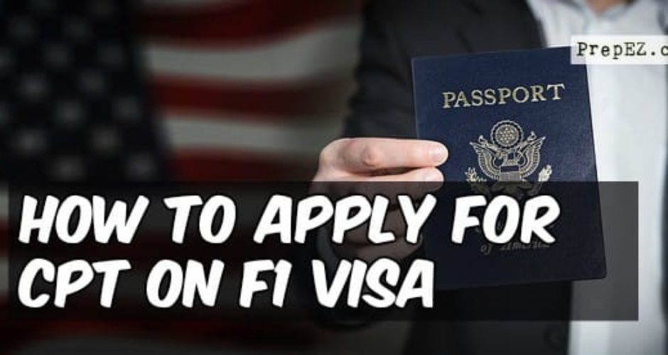 apply CPT on F1 visa