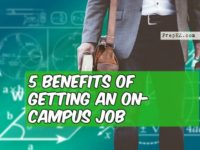 on-campus job benefits