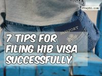 What are the 7 basic points for filing H1B visa?