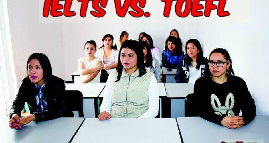 Difference IELTS TOEFL