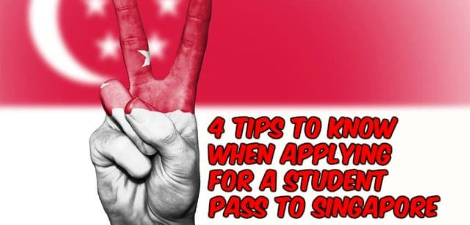 4 Essential Tips To Know When Applying for a Student Pass to  Singapore