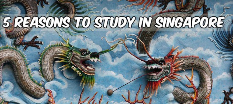 5 Reasons Why You Should  Study in Singapore