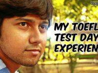 my TOEFL test day