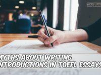 TOEFL writing