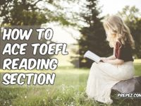 ace TOEFL Reading section