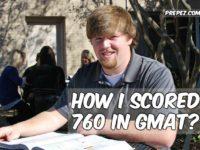 GMAT score high