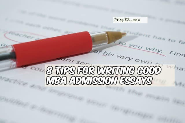 mba essay tips Mba essay analysis & mba essay examples for stanford, hbs, booth, wharton, mit sloan, kellogg, haas, tuck, yale, columbia, stern, darden, duke & more.