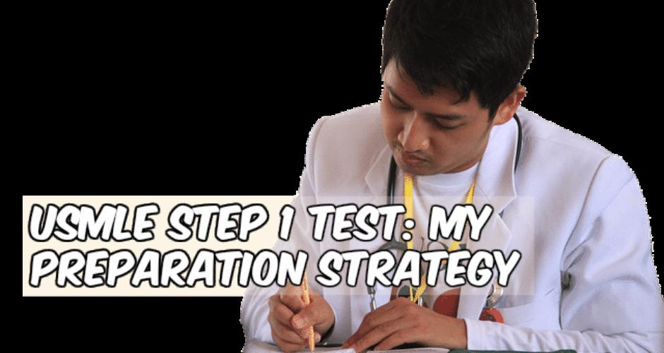 my preparation strategy