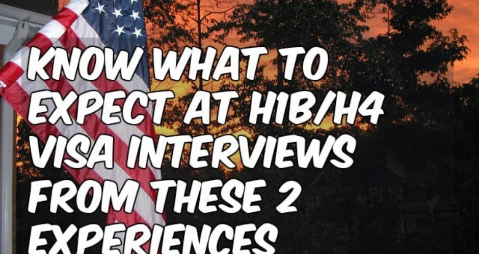 know what to expect visa interview