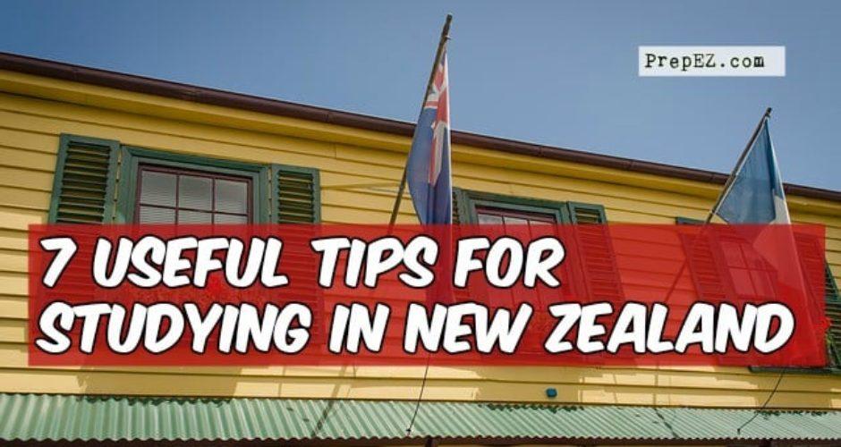tips study new zealand
