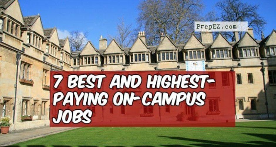 best on-campus jobs