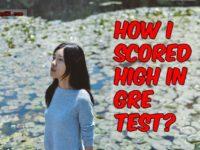 GRE Score tips