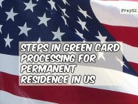 Know the steps in processing of green card