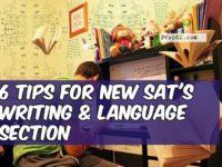 new SAT writing & language section
