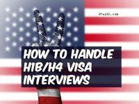 handle visa interview
