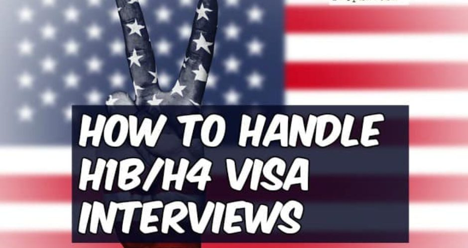 handle visa interview