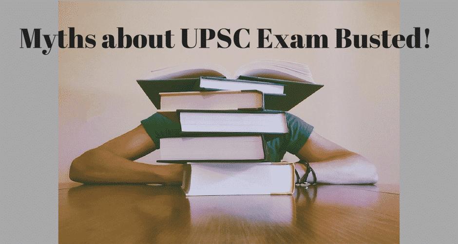 IAS exams myths